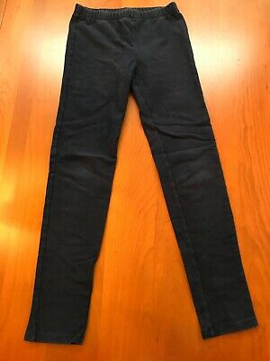 Girls GapKids Size M(8) Dark Navy Cozy Full Length Leggings