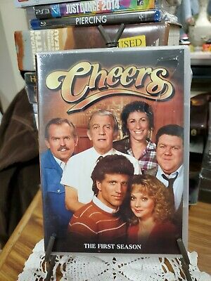 Cheers - The Complete First Season (DVD, 2003, 4-Disc Set) brand NEW Sealed