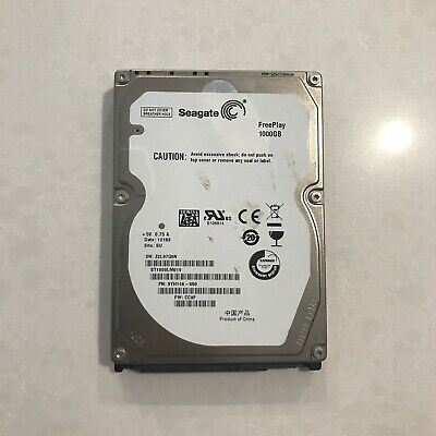 laptop hard drive 1x Seagate 1000GB  HDD Fresh Format