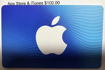 Apple Store & iTunes $100 Gift Card