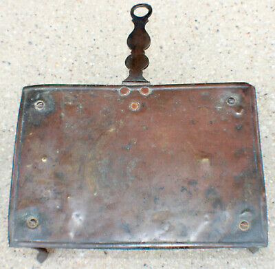 Antique Copper Wrought Iron Trivet Civil War Era RARE Hand Forged c.1850's-1860