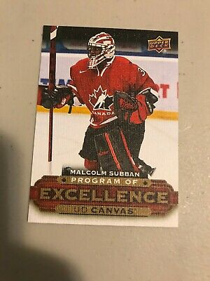 2015-16 Upper Deck Series 2 Malcolm Subban Program of Excellence C258