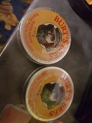 Burt's Bees Hand Salve - 85g x 2.100% natural. New and sealed