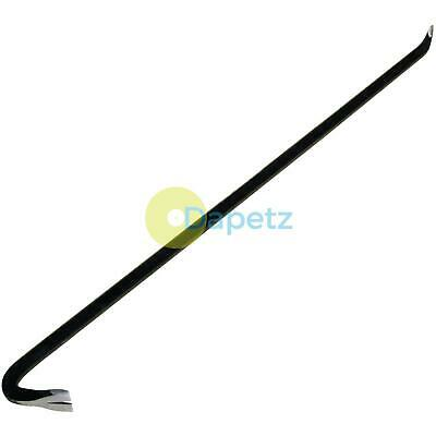 """Wrecking Crow Bar 36"""" Carbon Steel Crowbar Decking Board Puller Lever Pry Pull"""