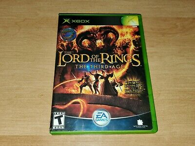 The Lord of the Rings The Third Age Microsoft Xbox Complete