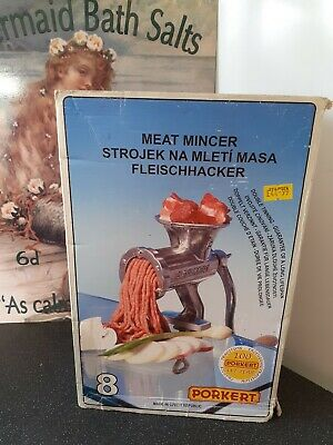 Porkert Meat Mincer Size 8