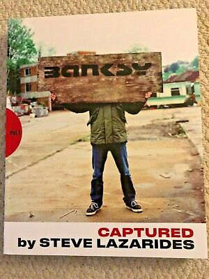 BANKSY CAPTURED by Steve Lazarides rare 1st Edition SOLD OUT Ltd & Numbered Book
