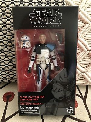 STAR WARS BLACK SERIES 6 Inch - Captain Rex #59 - CASE FRESH