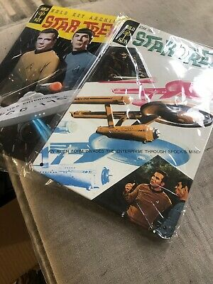 2x Star Trek Metal Signs. New. 26x17 Cm
