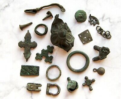 Ancient Vikings Bronze Artifacts 8-13th Century