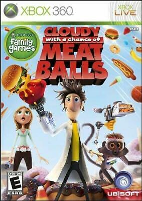 Cloudy With a Chance of Meatballs ( Microsoft Xbox 360 ) Tested Excellent