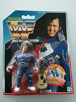WWF wrestling 1991 figures hasbro official Honky Tonk Man Rattle and Roll