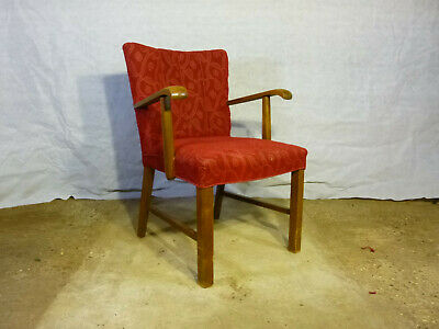 EB378 Danish Oak Elbow Chair Vintage Retro Mid-Century Modern