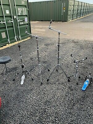 Free P&P Mapex Hardware Snare Hi Hat Cymbal Stands Pedal w Case HW001272