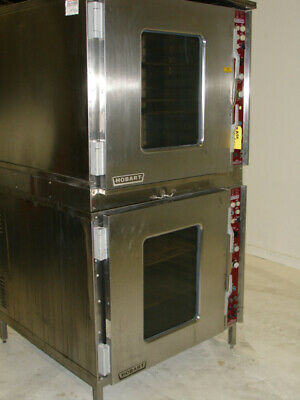 Hobart Double Stack OVEN SCVX20E Hobart Combi Convection/Steam Oven