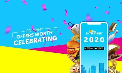 Dubai Entertainer 2020 all 2 for1  7 Day App Rental(Includes Adrenaline Add-on)