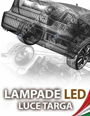 LAMPADE LED LUCI TARGA per SKODA Roomster specifico serie TOP CANBUS