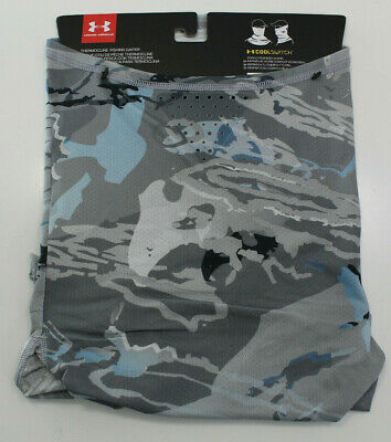 Camo Under Armour CoolSwitch UPF 30 Thermocline Fishing Gaiter NWT Ridge Reaper