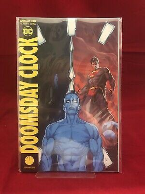 Doomsday Clock #12 DC Comics Variant Watchmen
