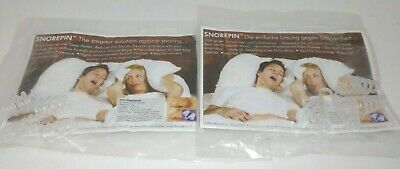 2x Snore Reducing Aids- Snorepin -The Smarter Solution To Decrease Snoring