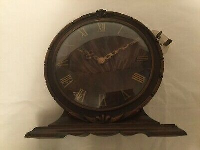 Vintage Smiths Sectric Oak Wood Electric Clock