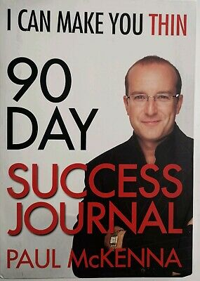Paul McKenna 90 Day Success Journal I can make you thin. Unused. Good condition.
