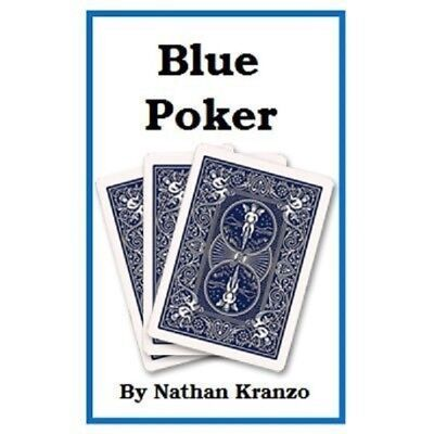 BLUE POKER - by NATHAN KRANZO - NEW VERSION OF 6 CARD REPEAT  CARDS INCLUDED NEW