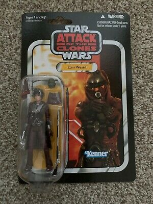 Hasbro Star Wars The Vintage Collection AOTC Zam Wesell