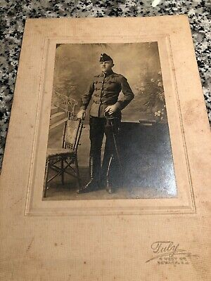 Late 19th Century New Jersey National Guard Soldier
