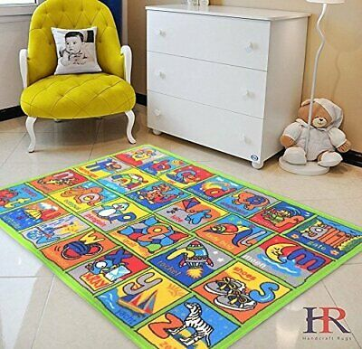 Educational Rugs For Kids ABC classroom kids toy-Non-Slip Kids Play Mat Pad