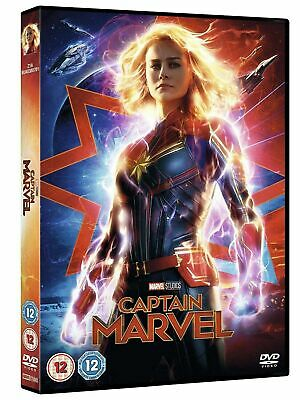 Captain Marvel (DVD, 2019) new and sealed