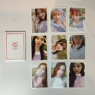 TWICE TWICECOASTER : LANE 1 Pre-Order benefit Official Photocard set
