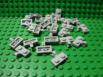 ** 25 CT LOT **  Lego NEW light bluish gray 1 x 2 slope W// curved top pieces