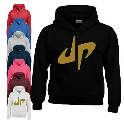 Dude Perfect Logo Hoodie Youtube Comedy Sports Birthday Youth Boy Girl Kids Hood