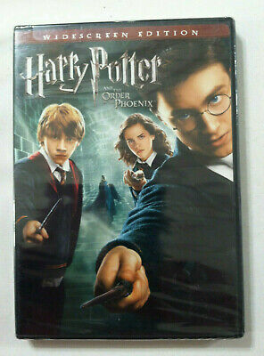 New factory sealed DVD movie disc Harry Potter and the Order of the Phoenix
