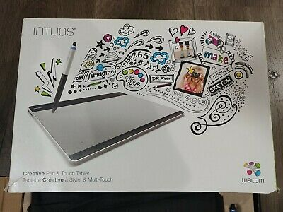 Wacom Intuos Pen & Touch Tablet CTH-680 S2 Pro MEDIUM BLACK Digital Graphics