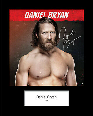DANIEL BRYAN #3 (WWE) Signed 10x8 Mounted Photo Print - FREE DELIVERY