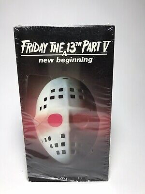 VHS Friday The 13th Part 5: A New Beginning (1985) EXCELLENT SHAPE • Horror