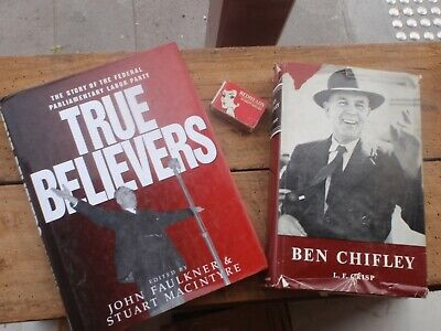 Labor Party History,   Chifley, Two  Books