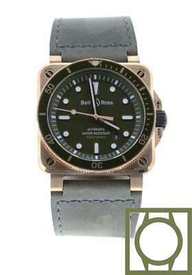 Bell & Ross BR 03-92 Diver Green Bronze Limited Edition BR0392-D-G-BR/SCA