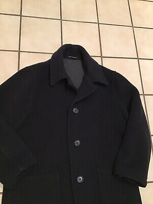 Brooks Brothers Wool Military Button Navy Classic Peacoat City Jacket Sz. S