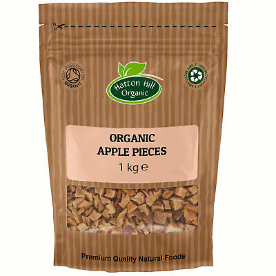 Organic Dried Apple Pieces Certified Organic