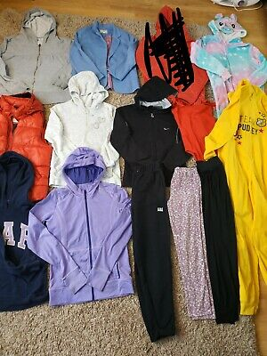 Huge Bundle Of Girls Clothes  Age 12-13 Nike Mango Bershka Gap