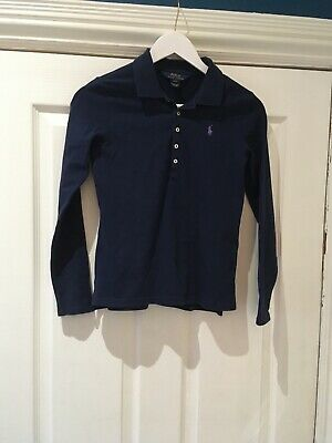 Girls Ralph Lauren Long Sleeve Top 12-14yrs (great condition).