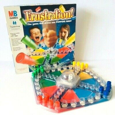 Vintage MB Frustration Family Fun Board Game (2000 edition)