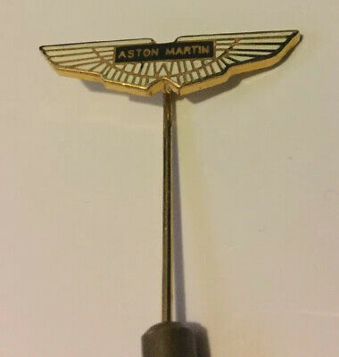 Aston Martin David Brown DB Silver Tie Pin Badge NEW