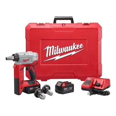 Milwaukee 2632-22XC M18 18-Volt 3/8 to 1-1/2 in Expansion Tool Kit with 3 Heads