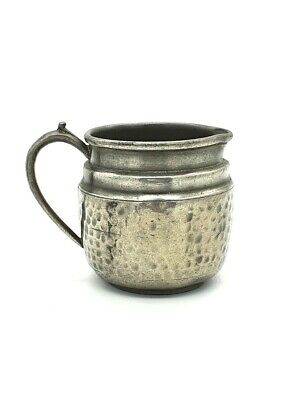 Arts & crafts 1900's small pewter creamer jug. Very nice condition