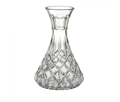 NWOB Waterford Lismore Carafe Decanter Crystal Etched Wine Glass Brandy Clear