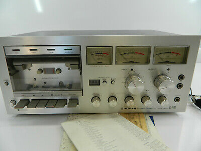 Pioneer Stereo Cassette Tape Deck CT-F700 Beautiful unit! Working